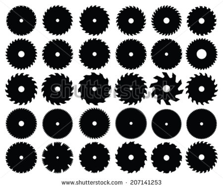 stock-vector-set-of-different-circular-saw-blades-vector-illustration-207141253